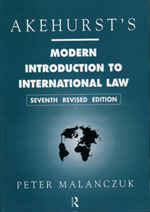 Modern Introduction to International Law 7/ed