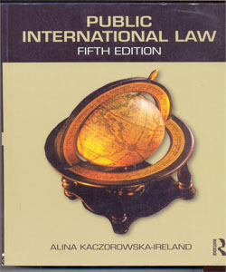 Public International Law 5Ed.