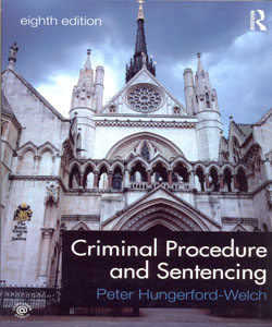 Criminal Procedure and Sentencing 8ed.