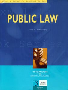 Public Law 3rd Ed