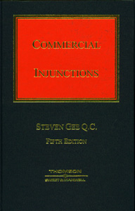 Gee on Commercial Injunctions with Supplement