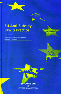 EU Anti-Subsidy Law & Practice 2nd Ed.