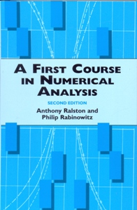 A First Course in Numerical Analysis 2Ed.