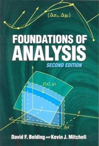 Foundations of Analysis 2Ed.