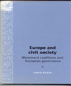 Europe and civil society Movement coalitions and European governance