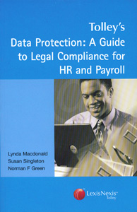Data Protection: A Guide Legal Compliance For HR And Payroll