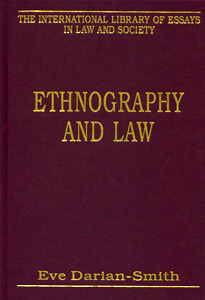 Ethnography and Law