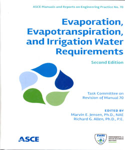 EVAPORATION, EVAPOTRANSPIRATION, AND IRRIGATION WATER REQUIREMENTS 2Ed.