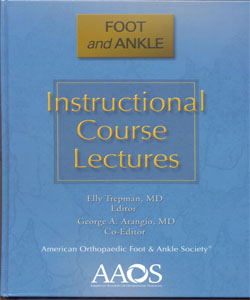 Instructional Course Lectures Foot and Ankle
