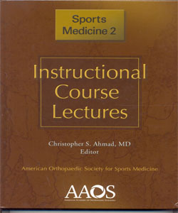 Instructional Course Lectures Sports Medicine 2