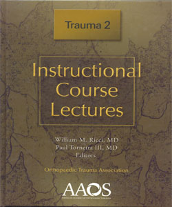 Instructional Course Lectures Trauma 2