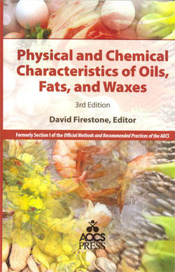 Physical and Chemical Characteristics of Oils Fats and Waxes 3ed.