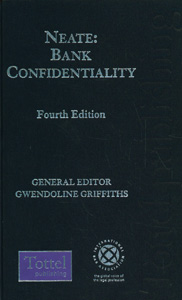 Neate: Bank Confidentiality, 4th edition