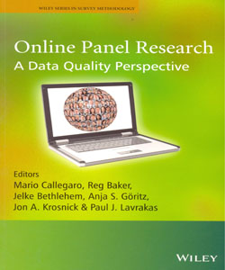 Online Panel Research A Data Quality Perspective