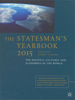 The Statesman's Yearbook 2015 The Politics,Cultures and Economics of the World 151ed.