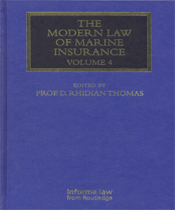 The Modern Law of Marine Insurance Vol.4