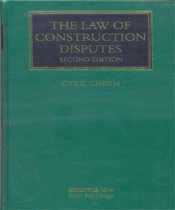 The Law of Construction Disputes