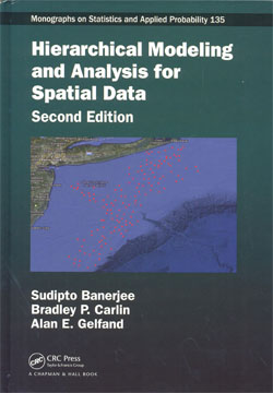 Hierarchical Modeling and Analysis for Spatial Data 2ed.