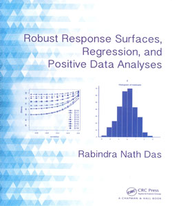 Robust Response Surfaces Regression and Positive Data Analyses