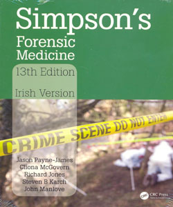 Simpson's Forensic Medicine 13ed. Irish Version