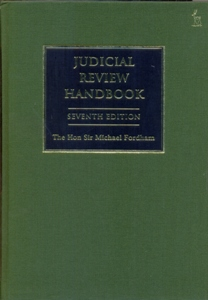 Judicial Review Handbook 7Ed.
