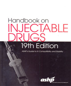 Handbook on Injectable Drugs 19th Ed.