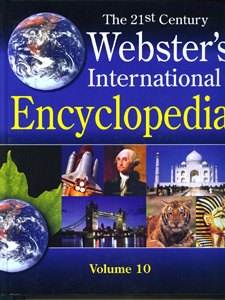 The 21st Century Webster's International Encyclopedia 10 Vol. Set.