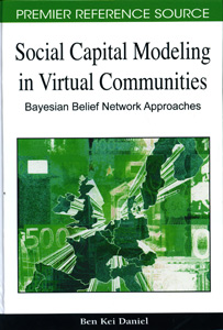 Social Capital Modeling in Virtual Communities:Bayesian Belief Network Approaches