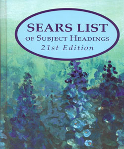 Sears List of Subject headings 21ed.