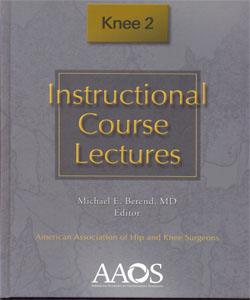 Instrucional Course Lectures Knee 2