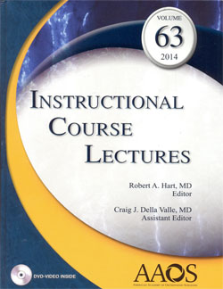 Instructional Course Lectures Vol.63