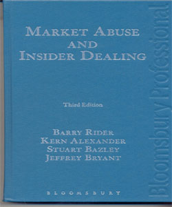 Market Abuse and Insider Dealing 3Ed.