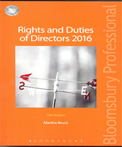 Rights and Duties of Directors 2016 15Ed.