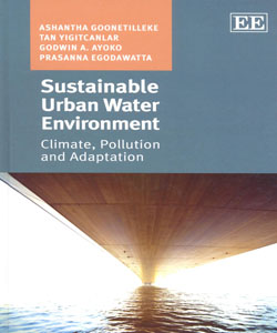 Sustainable Urban Water Environment Climate Pollution and Adaptation