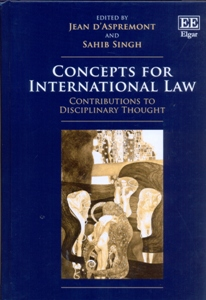 Concepts for International Law Contributions to Disciplinary Thought