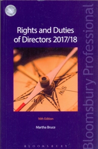 Rights and Duties of Directors 2017/18 16Ed.