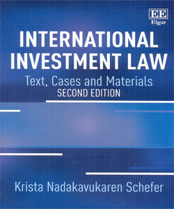 International Investment Law Text, Cases and Materials 2nd Ed.