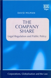 The Company Share Legal Regulation and Public Policy