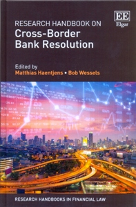 Research Handbook on Cross-Border Bank Resolution