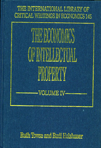 The Economics of Intellectual Property ( 4 Vol Set )