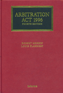 Arbitration Act 1996 4th Edition