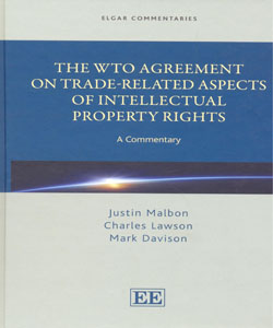 The WTO Agreement on Trade Related Aspects of Intellectual Property Rights A Commentary