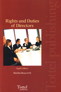 Rights and Duties of Directors 8th Edition