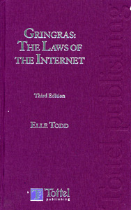 Gringras: The Laws of The Internet 3rd/Ed