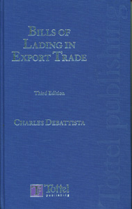 Debattista: Bills of Lading in Export Trade