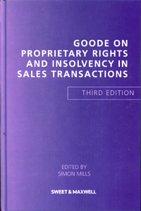 GOODE ON PROPRIETARY RIGHTS AND INSOLVENCY IN SALES TRANSACTIONS