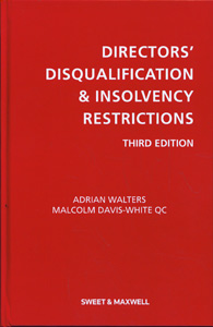 DIRECTORS' DISQUALIFICATION & INSOLVENCY RESTRICTIONS