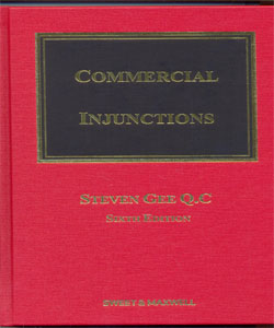 Commercial Injunctions 6Ed.