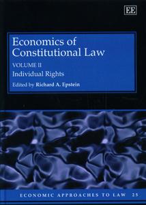 Economics Of Constitutional Law Volume-II