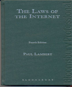 Gringras: The Laws of the Internet 4Ed.